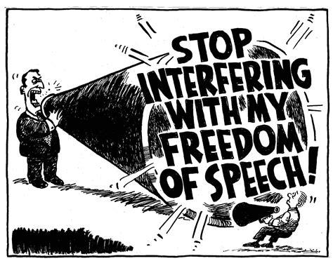 Staat de vrijheid van meningsuiting op de tocht?
