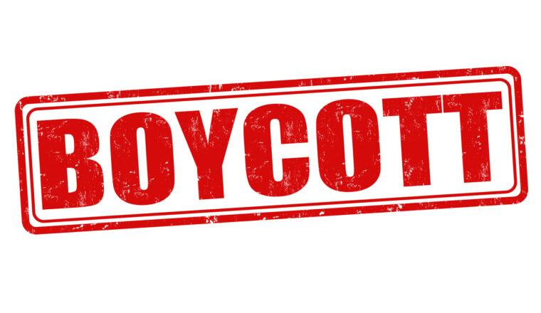 Boycot de QR-maatschappij